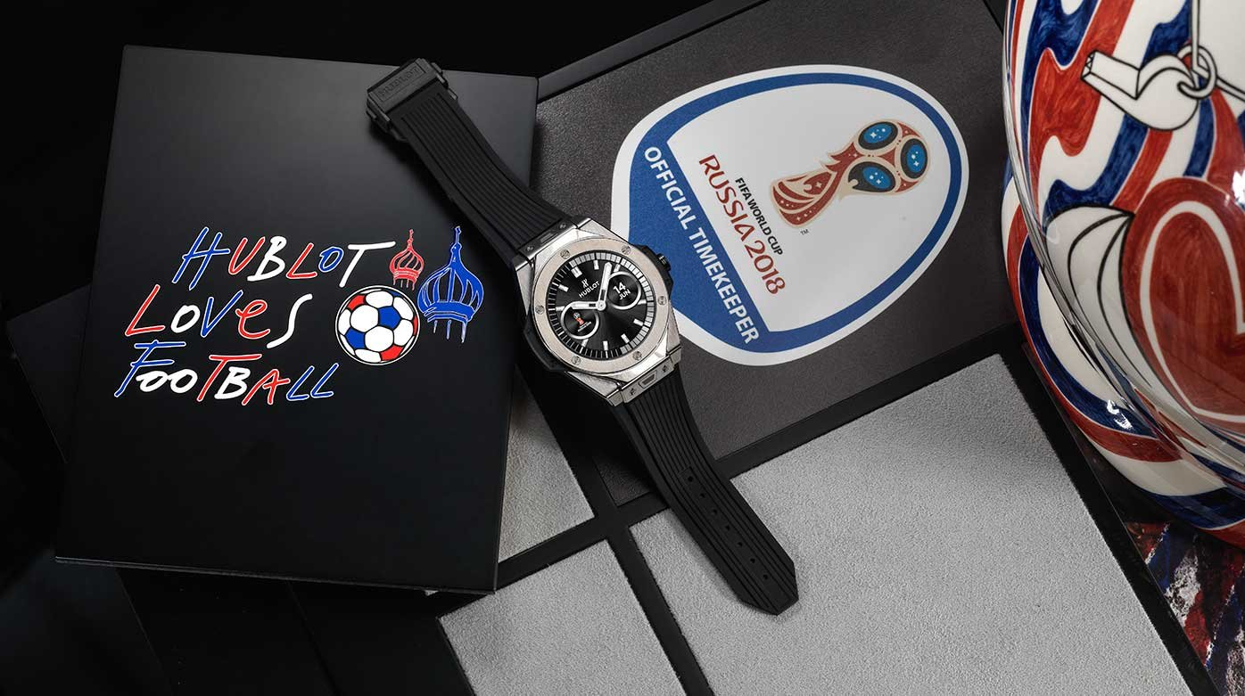 Hublot - The first watch with a World Cup tie-in
