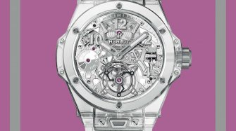 Big Bang Sapphire Tourbillon Trends and style