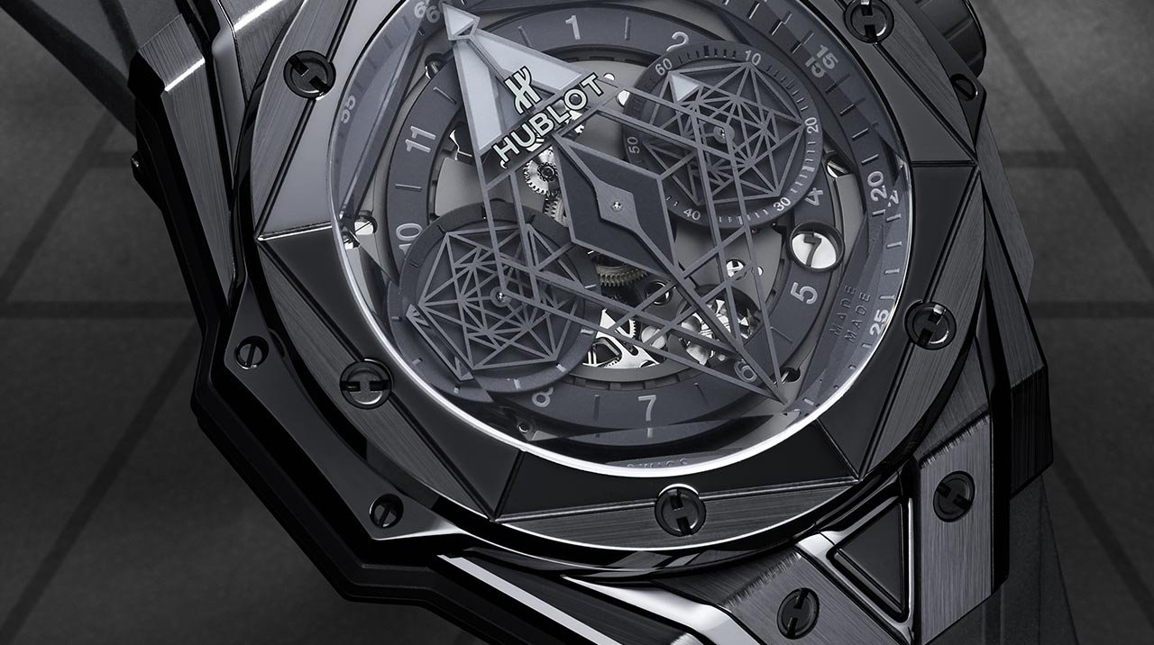 Hublot - Big Bang Unico Sang Bleu II All Black