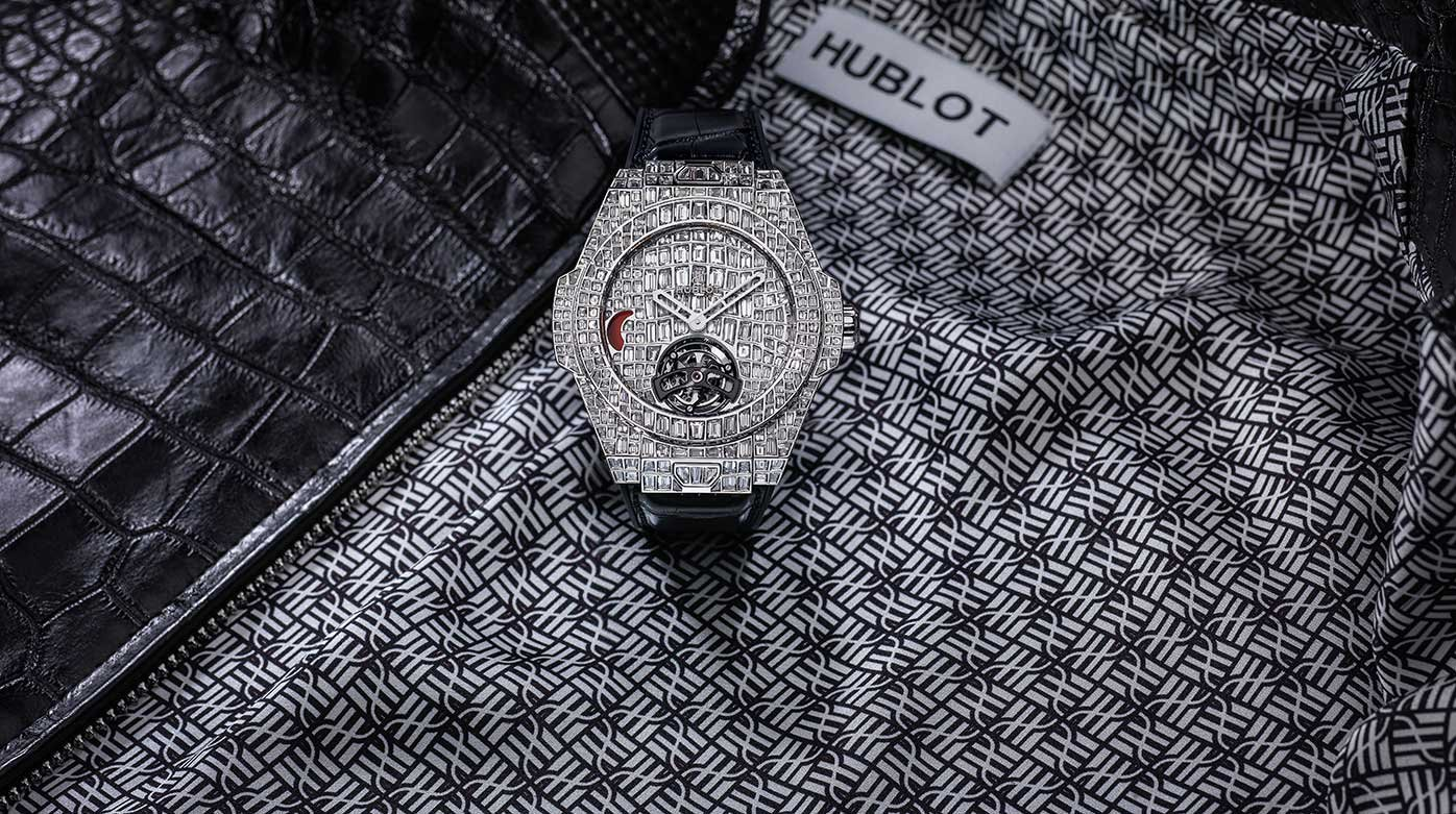 Hublot - Big Bang Unico Tourbillon Croco High Jewellery