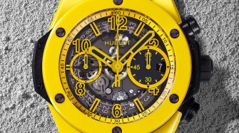 Big Bang Unico Yellow Ceramic Style & Tendance