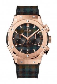 "Chronograph Italia Independent King Gold ""Tartan"""