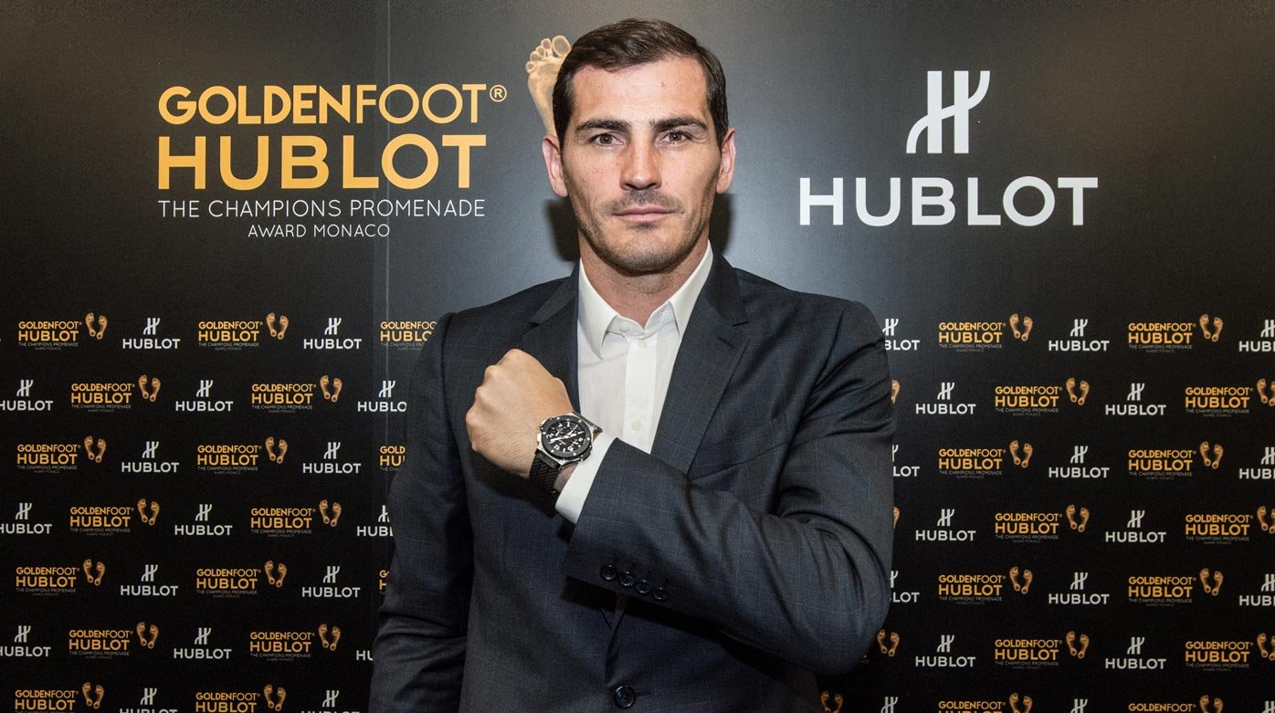 "Hublot - The ""Golden Foot"" award goes to Iker Casillas"