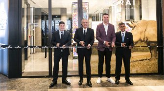 Opening of the Brand's First Boutique in India Retail
