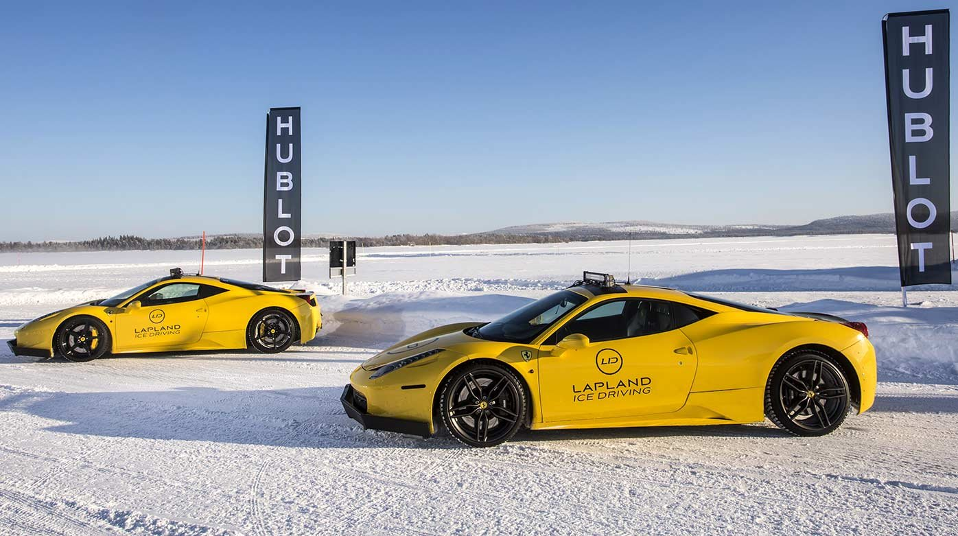 Hublot - Partnership with Lapland Ice Driving