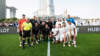 Match of Friendship in Dubai