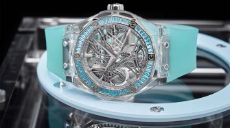 Classic Fusion Tourbillon Sapphire Orlinski for Only Watch Trends and style