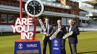 Official Timekeeper of the ICC Cricket World Cup 2019 Sport