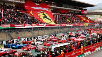 In Mugello with Ferrari for the Finali Mondiali