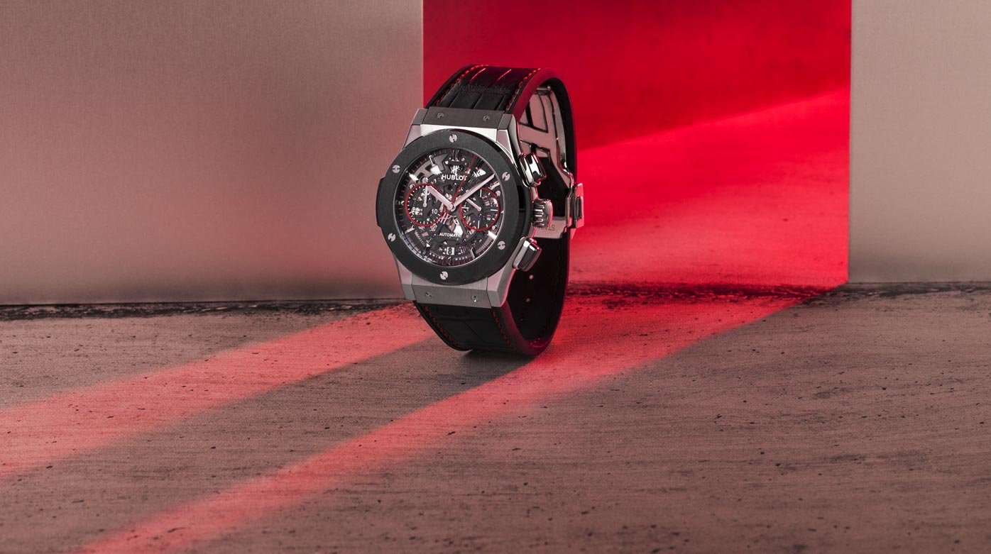 Hublot et la Watch Gallery - Classic Fusion Aerofusion Chronograph Red