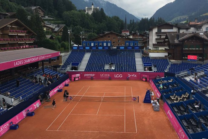 A surprise for the Ladies Championship Gstaad Innovation and technology