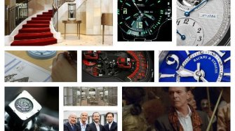 Last month's watch industry news Arts and culture