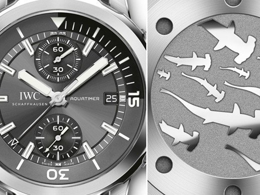 "IWC - Aquatimer Chronograph Edition ""Sharks"""
