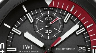 "Aquatimer Chronograph Edition ""La Cumbre Volcano"" Trends and style"