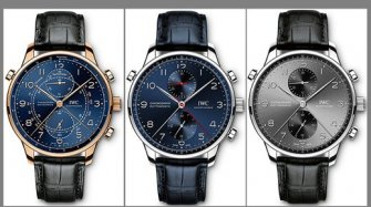Portugieser Chronograph Rattrapante Milan, Paris and Munich Trends and style
