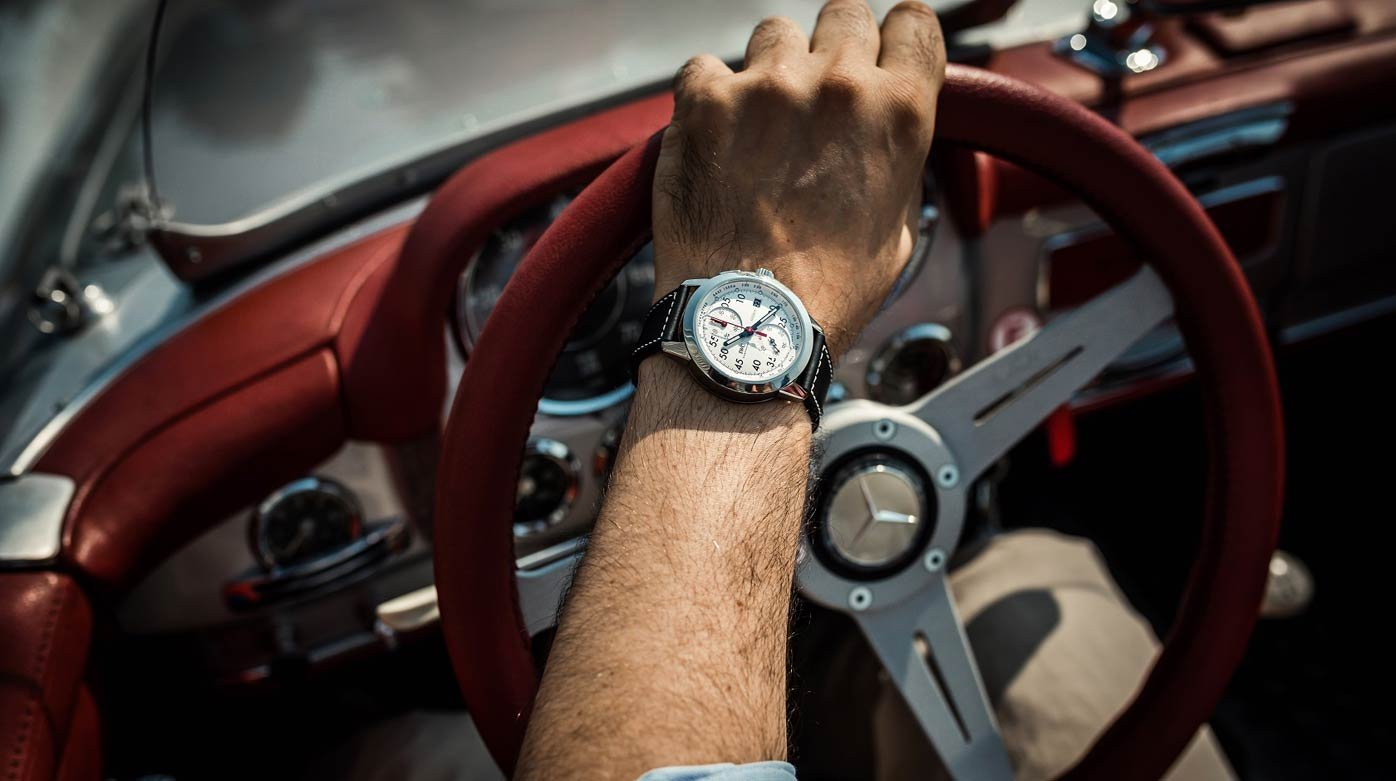 IWC Schaffhausen - The Ingenieur collection at the Passione Caracciola Rally