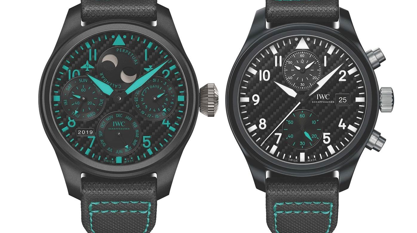 IWC Schaffhausen - Two watches for the Formula 1 World Champions