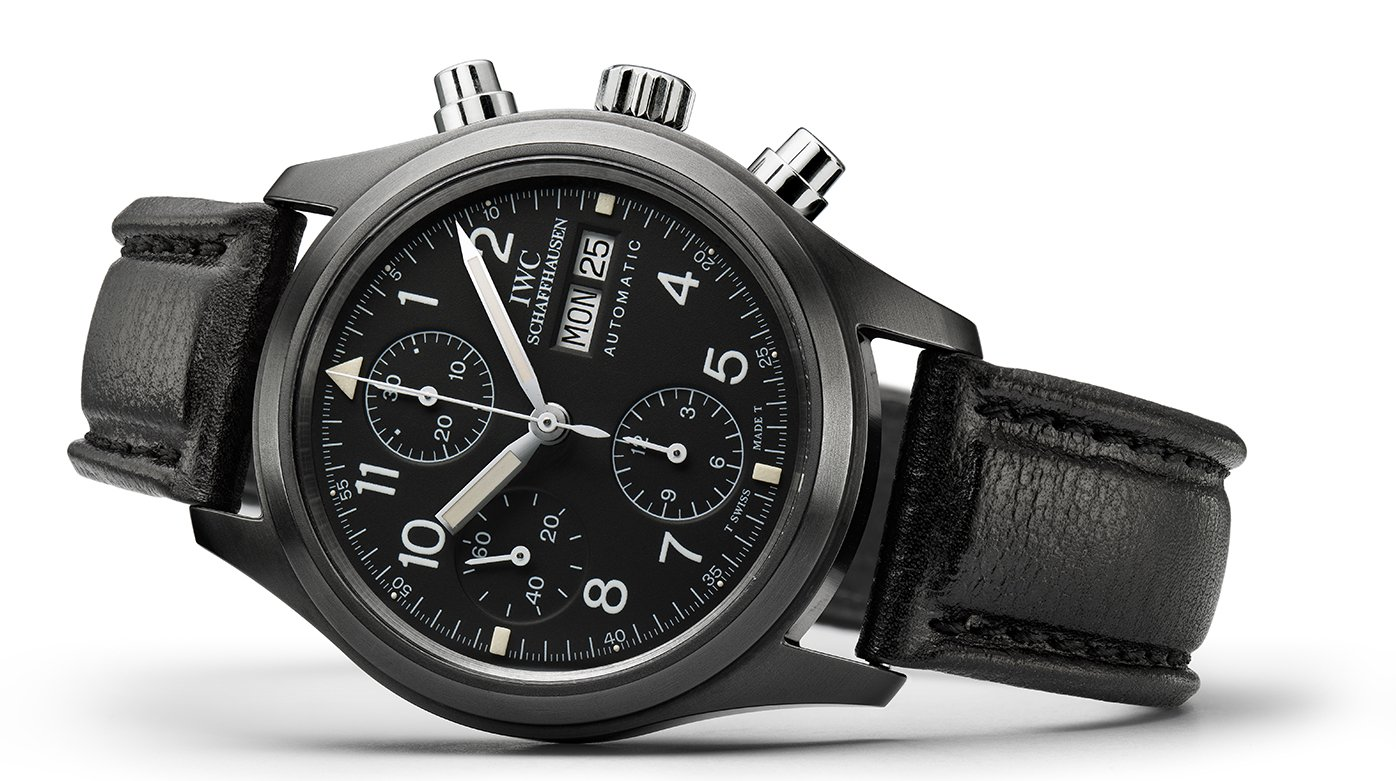 "IWC Schaffhausen - Pilot's Watch Chronograph Edition ""Tribute to 3705"""