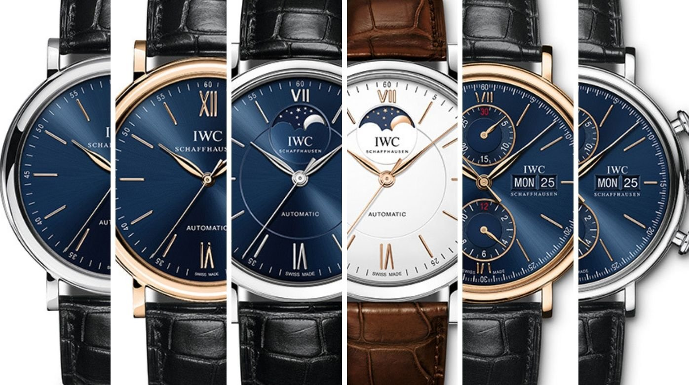 IWC Schaffhausen - Classic and glamourous Portofinos for him