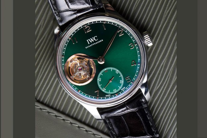 Portugieser Tourbillon Middle East special edition Trends and style
