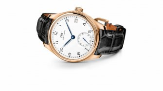 "Portugieser Hand-Wound Eight Days Edition ""150 Years"" Trends and style"