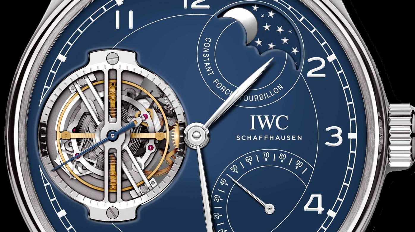 IWC Schaffhausen - Portugieser Tourbillon Force Constante Edition « 150 Years »