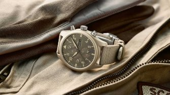 "The desert and the IWC Pilot's Watch Chronograph TOP GUN Edition ""Mojave Desert""  Trends and style"