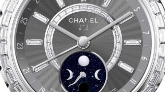 J12 Moonphase,  jewelry on titanium ceramic Trends and style