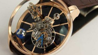 Video du Gravitational Triple Axis Tourbillon
