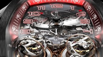 Twin Turbo Double Tourbillon Triple Axes Répétition Minutes