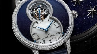 The Grande Seconde Tourbillon Aventurine Trends and style