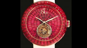 Brilliant Flying Tourbillon Ruby Style & Tendance