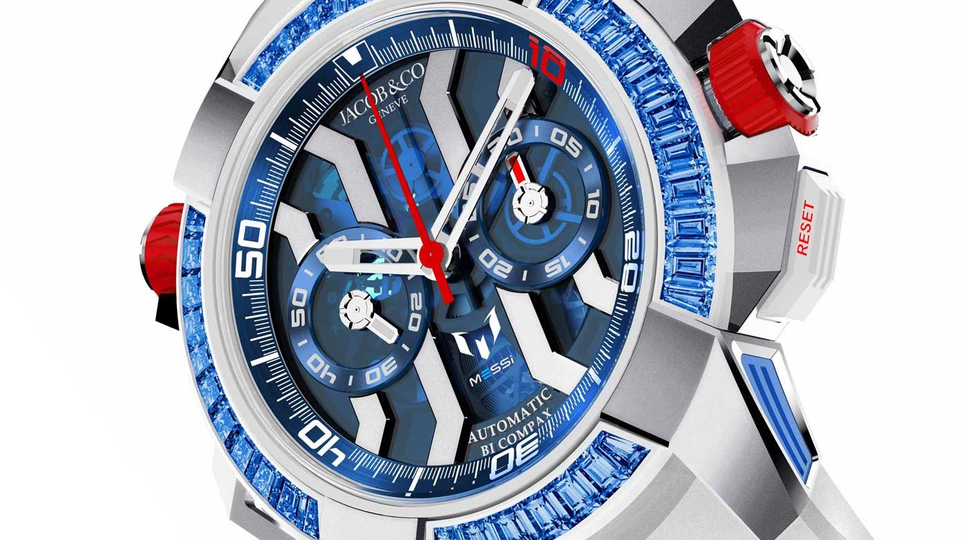"Jacob & Co. - Epic X Chrono Messi ""Only Watch"" Special Edition"