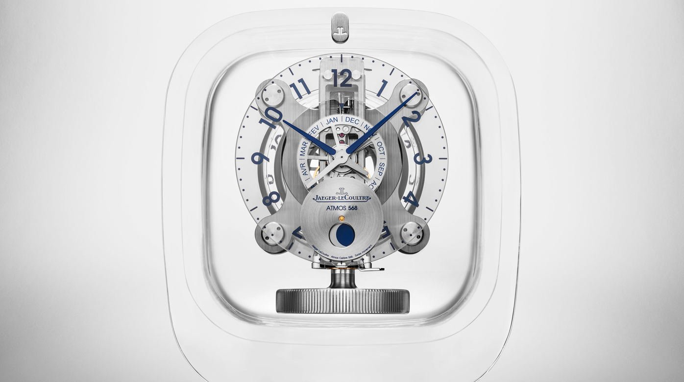 Jaeger-LeCoultre - Atmos Clock by Marc Newson