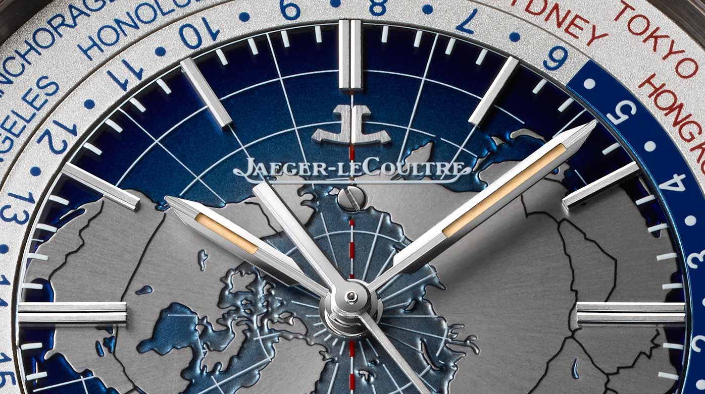 Jaeger-LeCoultre - Geophysic: the world at your fingertips