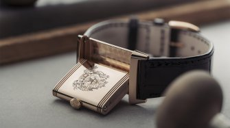 A personalised engraving on your Jaeger-LeCoultre Reverso