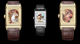 Reverso Tribute Enamel Alfons Mucha Trends and style