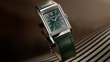 La Reverso Tribute Small Seconds en vert