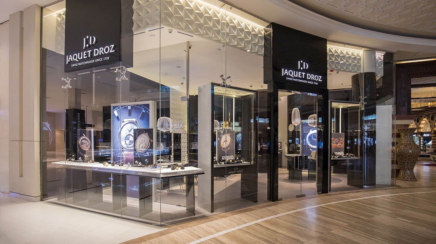Jaquet Droz - Opening of a Boutique in Dubai Mall