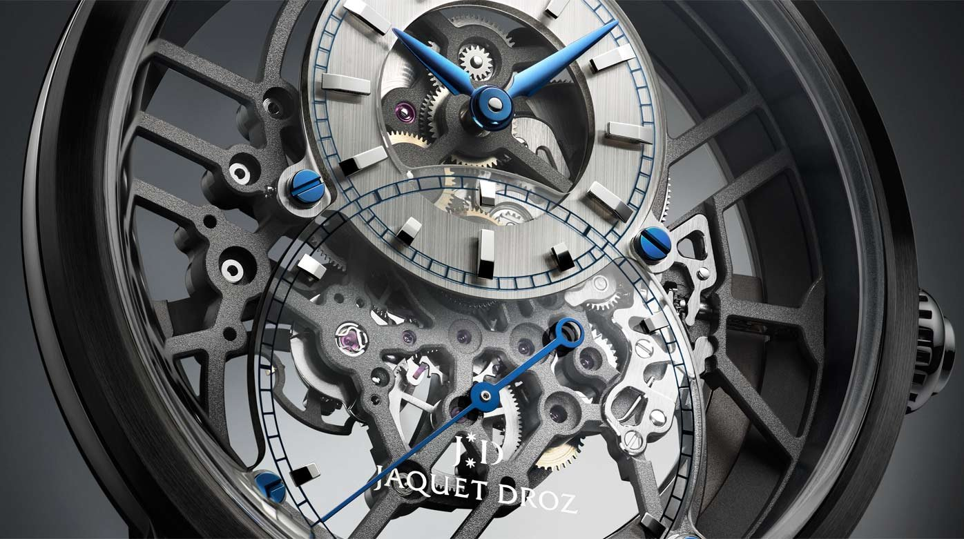 Jaquet Droz - Grande Seconde Skelet-One Ceramic