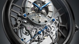 Grande Seconde Skelet-One Ceramic Innovation and technology