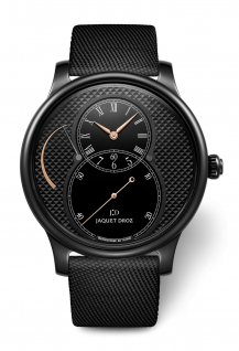 Grande Seconde Power Reserve Ceramic Clous de Paris