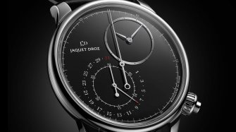 The Grande Seconde Off-Centered Chronograph Trends and style