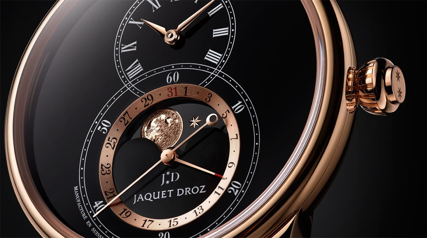 Jaquet Droz - Grande Seconde Moon Black Enamel