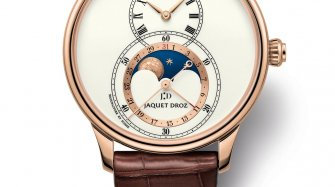 Grande Seconde Moon Ivory Enamel Trends and style