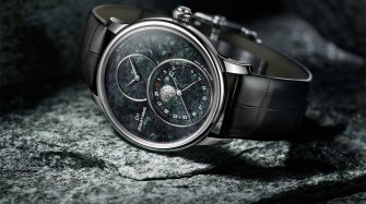 Grande Seconde Moon Swiss Serpentinite Trends and style