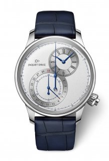 Grande Seconde Off-Centered Chronograph Silver