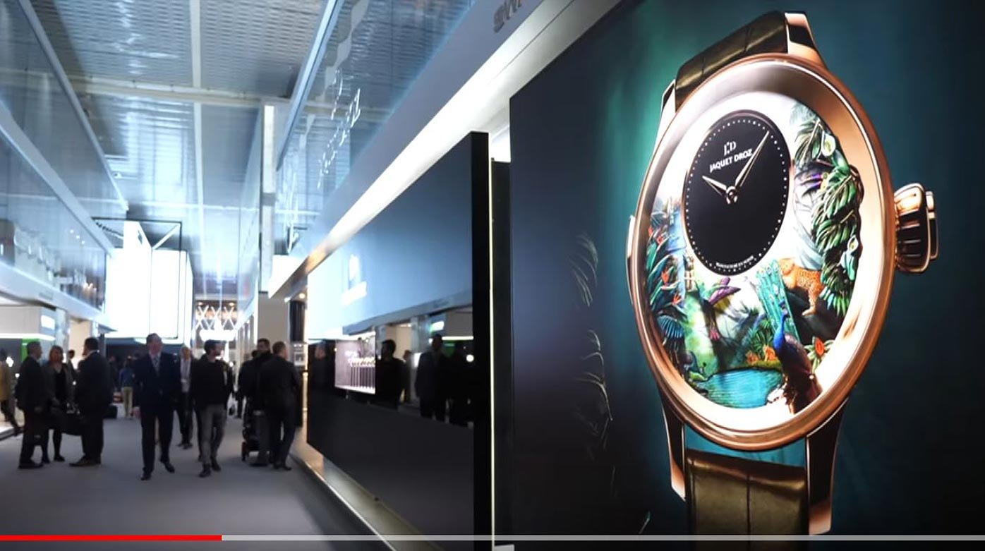 Jaquet Droz - Baselworld 2018 novelties