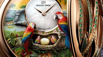 Parrot Repeater Pocket Watch Innovation and technology