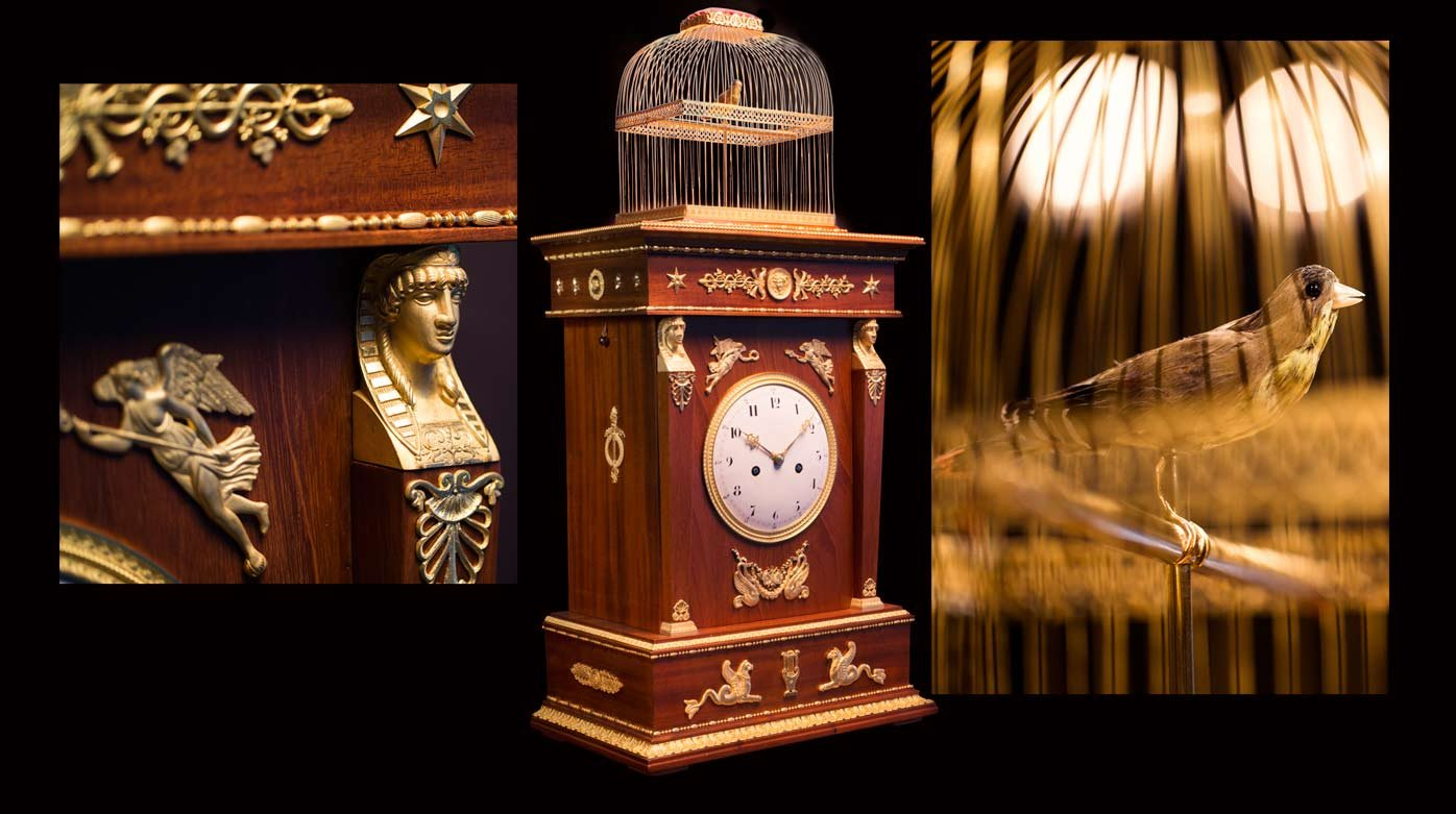 "Jaquet Droz - Restoration of the ""Singing Bird Clock"""